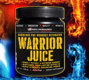 Warrior Juice banner