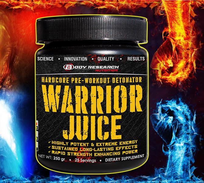 Warrior Juice banner