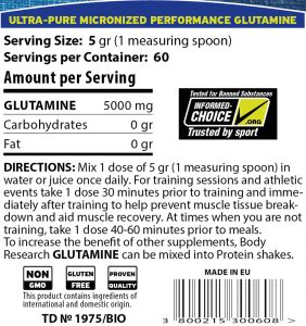Glutamine info