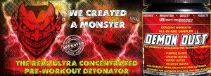 Demon Dust header